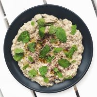 Easy Roasted Eggplant Dip