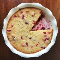 Wonderfully Circuitous | Nantucket Cranberry Pie