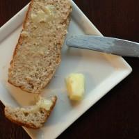 the in between: easy oat bread