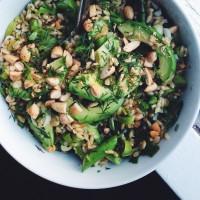 Barley Salad with Asparagus & Herbs