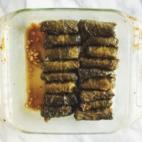 For the Love of Mezze | Stuffed Grape Leaves