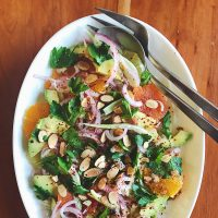 Avocado, Citrus & Fennel Salad for Winter