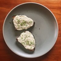On Time & Toast | Whipped Ricotta Toasts