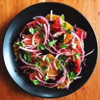 California | Simple Citrus Salad