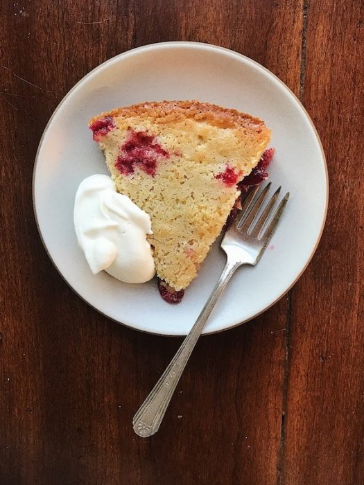 Nantucket Cranberry Pie   Delightful Crumb