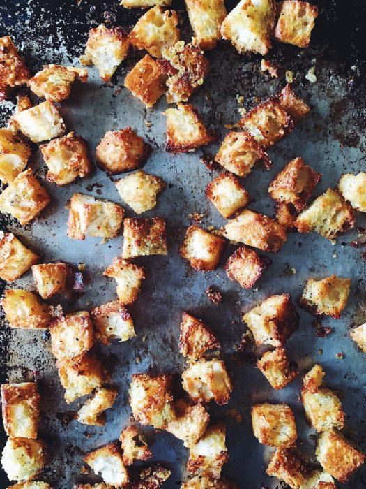 Homemade Croutons   Delightful Crumb