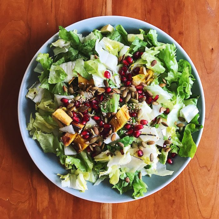Winter Salad   Delightful Crumb