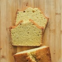 Coping List & Cornmeal Pound Cake