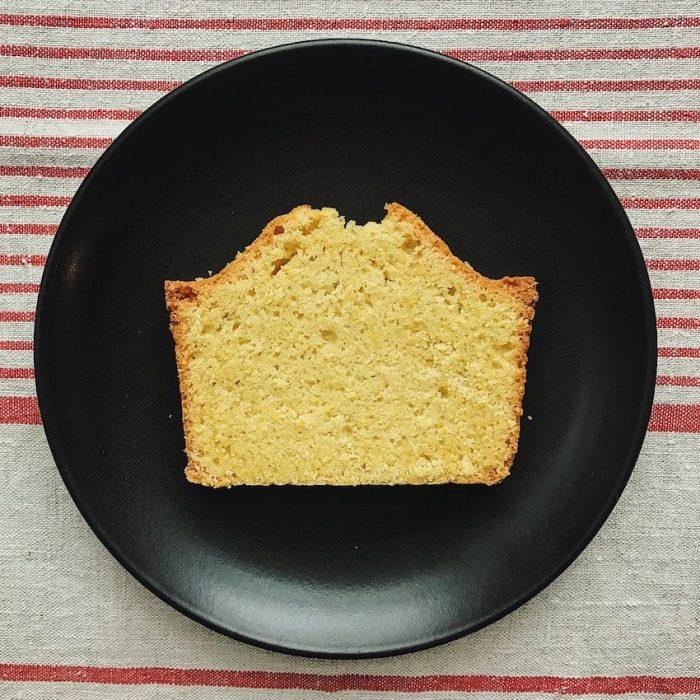 Cornmeal Pound Cake   Delightful Crumb