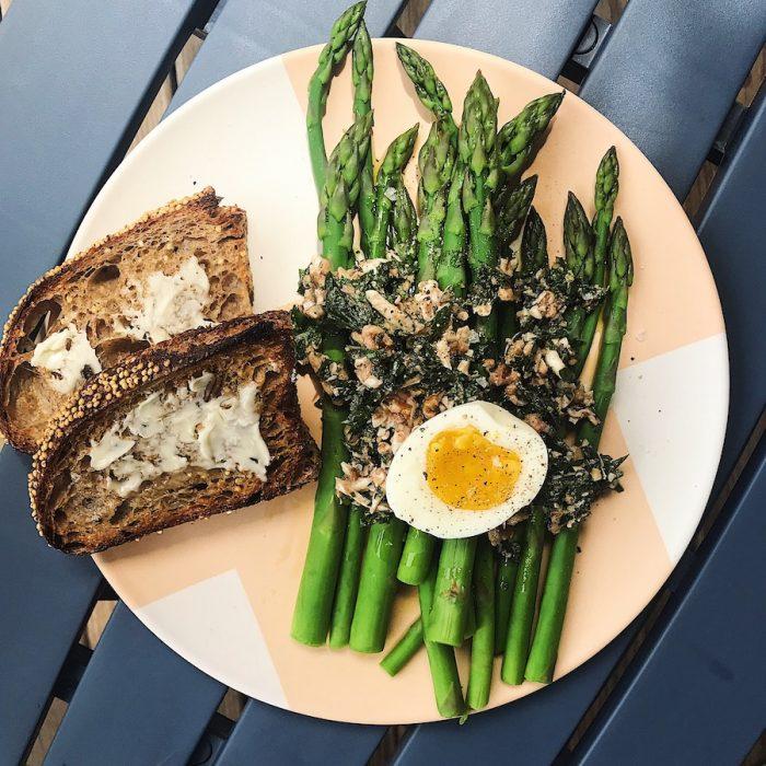 Walnut Relish with Egg | Delightful Crumb