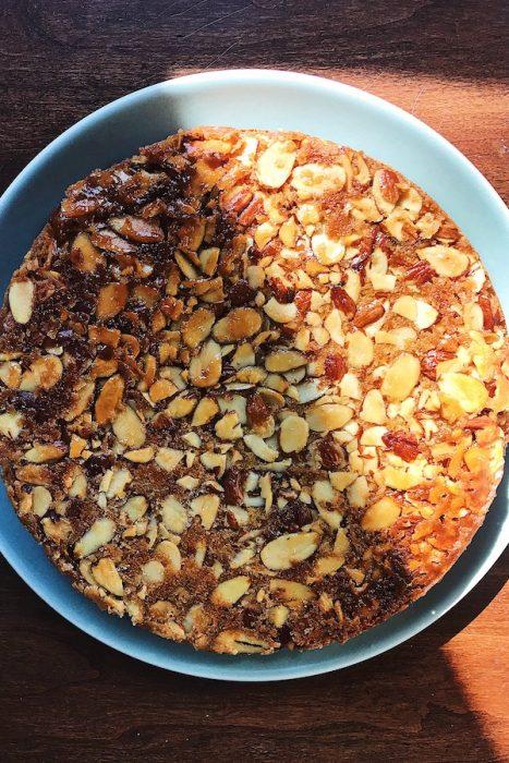 Almond & Cardamom Tea Cake | Delightful Crumb